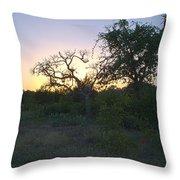 Cedar Park Texas Fall Creek Sunset Throw Pillow