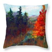 Fall Day Throw Pillow