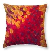 Fall Flurry Throw Pillow