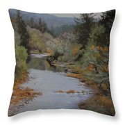 Fall Harmonies Throw Pillow