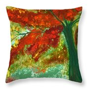 Fall Impression By Jrr Throw Pillow