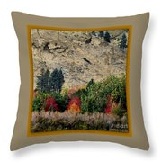 Fall In Carson Valley  Throw Pillow