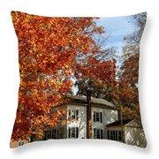 Fall In Kinderhook Throw Pillow