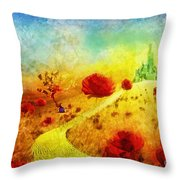 Fall In Oz Throw Pillow