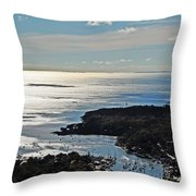 Fall In Rockport Throw Pillow