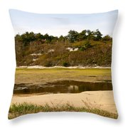 Fall In The Province Lands Throw Pillow