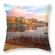Fall In Traverse City  Throw Pillow