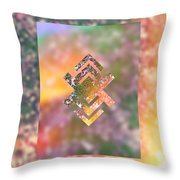 Fall Lawn Soaking Up The Sun Throw Pillow