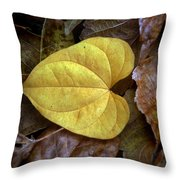 Fall Leaves 4 Throw Pillow