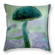 Fall Mushroom 19 Throw Pillow