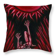 Fall Of Icarus Throw Pillow