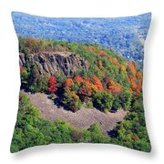 Fall On The Mountain Throw Pillow