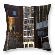Fall Out Throw Pillow