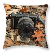 Fall Photography Throw Pillow