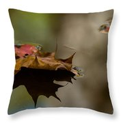 Fall Puddle Throw Pillow