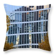 Fall Reflections II Throw Pillow