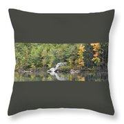 Fall Reflections Wc Throw Pillow