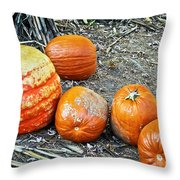 Fall Rejects Throw Pillow