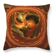 Fall Round Up Throw Pillow