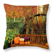 Fall Serenity Throw Pillow