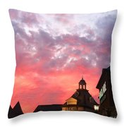 Fall Sky Throw Pillow