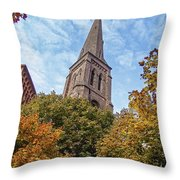 Fall Steeple Throw Pillow
