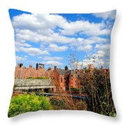 Fall Walk On The High Line Throw Pillow