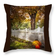 Fall Welcome Throw Pillow