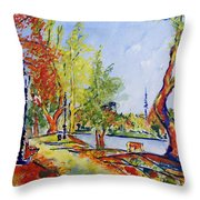 Fall2014-13 Throw Pillow