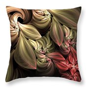 Fallen From Grace Abstract Throw Pillow