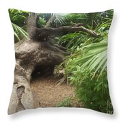 Fallen Giant Throw Pillow