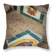 Fallen Lady 1 Throw Pillow