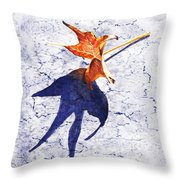 Fallen Leaf King Size Shadow Throw Pillow