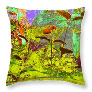 Fallen Log World Throw Pillow