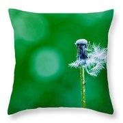 Fallen Off Dandelion - Featured 3 Throw Pillow