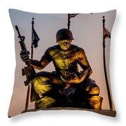 Fallen Soldier 2 Throw Pillow