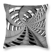 Falling Into Throw Pillow