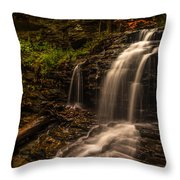 Falling Beautifully  Throw Pillow
