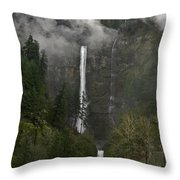 Falling From The Mist Throw Pillow