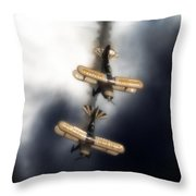 Falling Pitts Throw Pillow