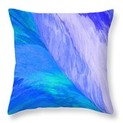 Falling Water By Jrr Throw Pillow