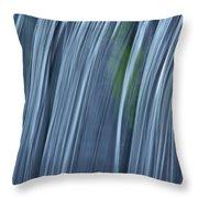Falling Water Up Close Throw Pillow