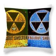 Fallout Lineup Throw Pillow