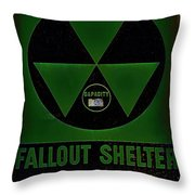 Fallout Shelter Wall 4 Throw Pillow