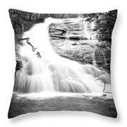 Falls Branch Falls Throw Pillow