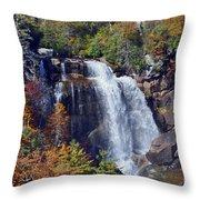 Falls In Fall Throw Pillow