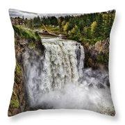 Falls In Love Throw Pillow