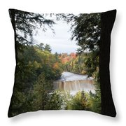 Falls In The Distance Throw Pillow