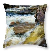 Falls Of Dochart Scotland Throw Pillow
