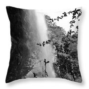 Falls Of Eden Throw Pillow